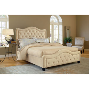 Trieste Buckwheat King Complete Bed With Rails