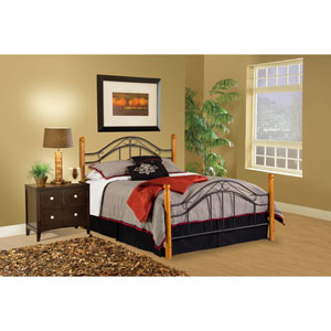 Winsloh Black Queen Complete Bed