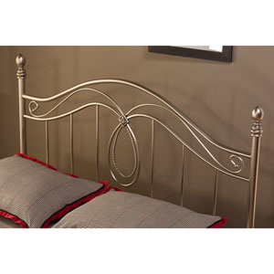 Milano Antique Pewter King Headboard Only