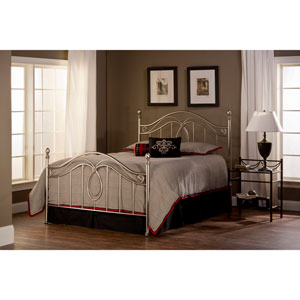 Milano Antique Pewter Full Complete Bed