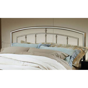 Claudia Bed Matte Nickel Full/Queen - Headboard Only