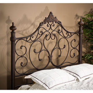 Baremore Antique Brown Queen Headboard with Rails