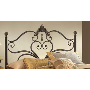 Newton Antique Brown Highlight Queen Headboard Only