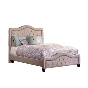 Trieste Queen Dove Gray Bed Set