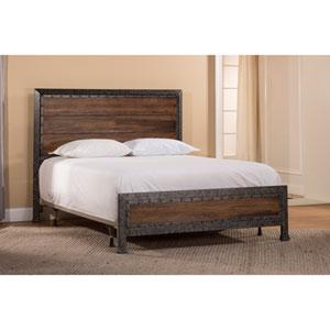 Mackinac Black Queen Complete Bed Set