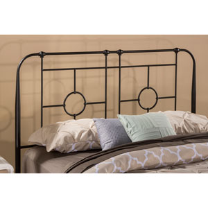 Trenton Black Sparkle 61-Inch Duo Panel Headboard