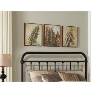 Kirkland Full/Queen Headboard with Frame - Dark Brown