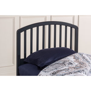 Carolina Navy Twin Headboard With Frame