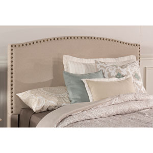 Kerstein Light Taupe Fabric King Headboard Only