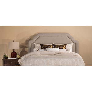 Carlyle Light Taupe Fabric King Headboard Only