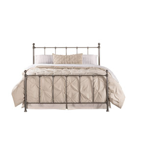 Molly Black Steel Queen Bed