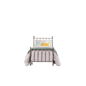 Molly Black Steel Twin Bed