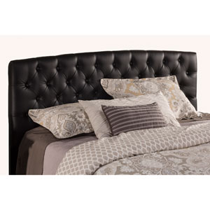Hawthorne Black PU Faux Leather 63-Inch Queen Headboard