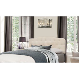 Nicole Full/Queen Headboard with Frame - Linen Fabric