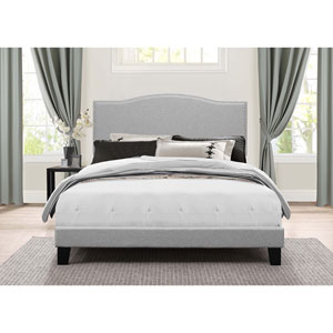 Kiley Full Bed in One - Glacier Gray Fabric