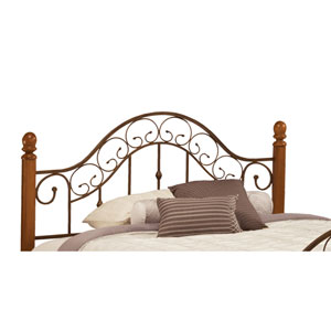 San Marcos Brown Copper Full/Queen Headboard Only