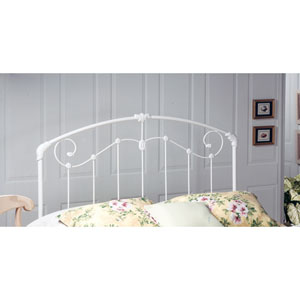 Maddie Glossy White Twin Headboard Only