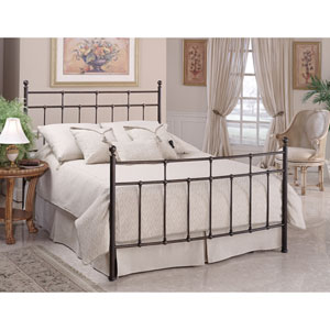 Providence Antique Bronze Full Complete Bed