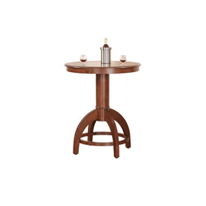 Palm Springs Medium Brown Cherry 42-Inch Bistro Table