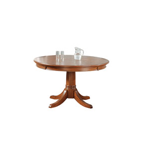 Park View Medium Brown Oak Game Table
