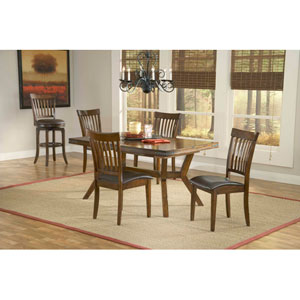 Arbor Hill Colonial Chestnut  Five-Piece Dining Set