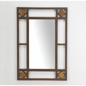Lakeview Brown Console Mirror