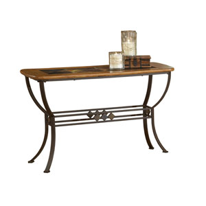 Lakeview Brown Sofa Table