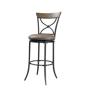 Charleston Desert Tan X-Back Counter Stool