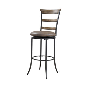 Charleston Desert Tan Ladder Back Counter Stool