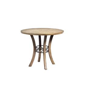 Charleston Desert Tan Wood Counter Height Table