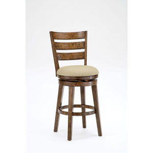 Lenox Chestnut Swivel Bar Stool