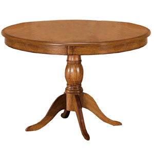 Bayberry Oak 44-Inch Round Table