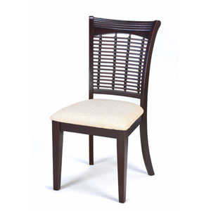 Bayberry Dark Cherry Dining Chairs, Set of Two