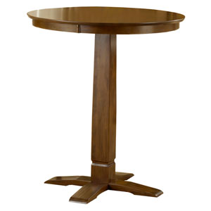 Dynamic Designs Brown Cherry Pub Table
