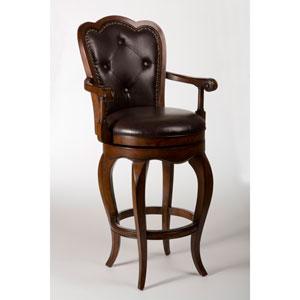 Hillsdale Furniture Eastwind Dark Cherry Swivel Bar Stool