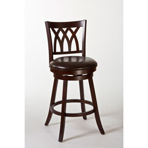 Tateswood Cherry Swivel Counter Stool