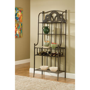 Marsala Brown Bakers Rack