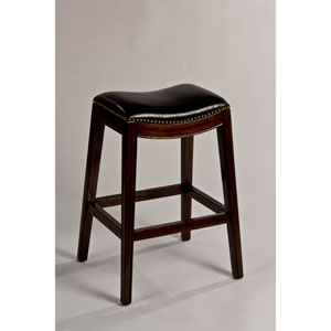 Sorella Espresso Backless Bar Stool