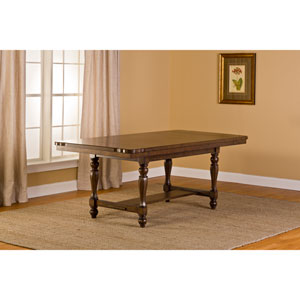 Seaton Springs Weathered Walnut Dining Table