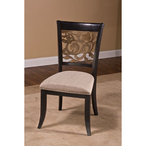 Bennington Black Dining Chair, Set of 2