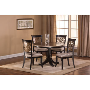 Bennington 5-Piece Black Dining Set