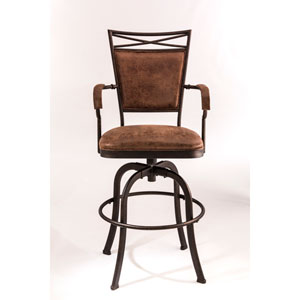 Bridgetown Aged Bronze Counter Stool