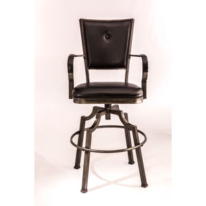 Hillsdale Furniture Bridgetown Aged Bronze Bar Stool 5759