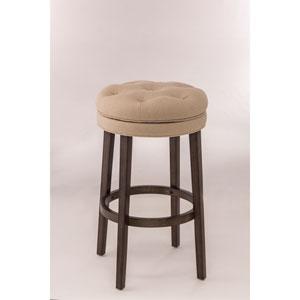 Krauss Charcoal Stone Backless Swivel Counter Stool