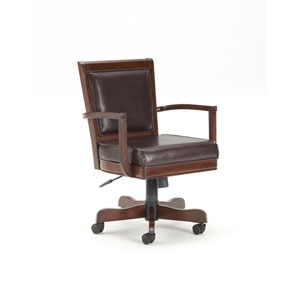 Ambassador Rich Cherry  Square Back Game Chair