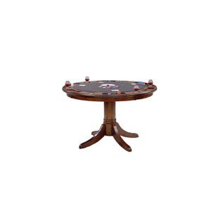 Warrington Rich Cherry Round Game Table