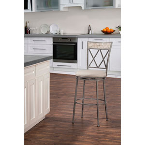 Indoor / Outdoor Milestone Swivel Counter Stool