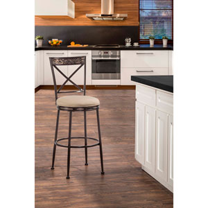 Indoor / Outdoor Pullman Swivel Counter Stool