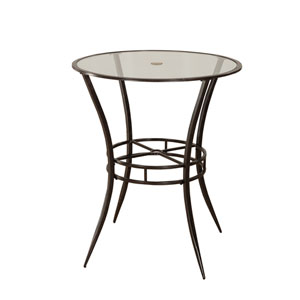 Indoor / Outdoor Bar Height Bistro Table