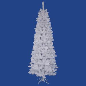White Salem Pencil Pine 4.5-Foot Christmas Tree w/217 Tips
